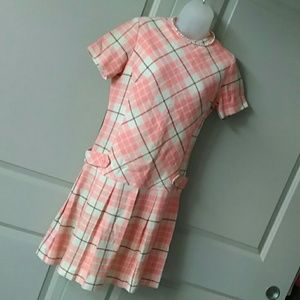 Dresses & Skirts - Vintage 60's plaid dress from Malouf Dallas Texas
